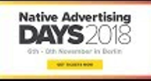 NATIVE ADVERTISING DAYSs omslagsbilde